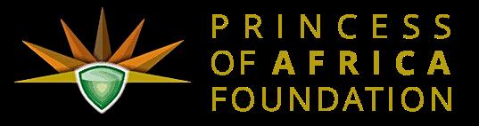 PRINCESS OF AFRICA FOUNDATION Logo